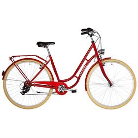 Ortler Detroit EQ kaupunkipyörä 6-vaihteinen , punainen